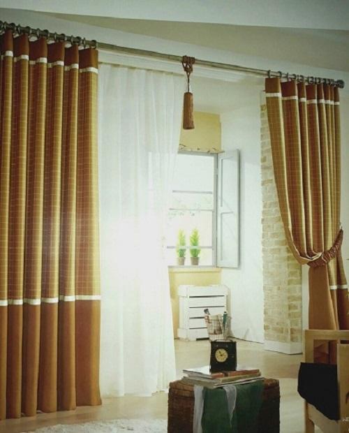 rèm cửa 2 lớp chống nắng