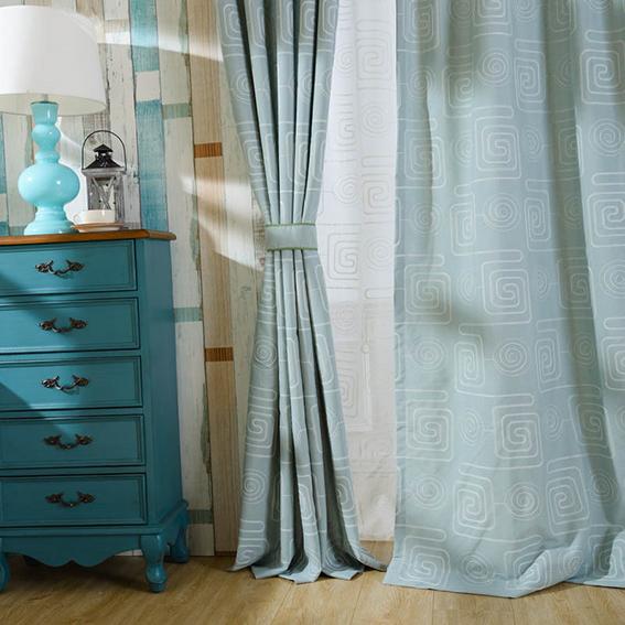 Rèm vải một màu ghi xám Ánh Dương - Thanh lịch và sang trọng