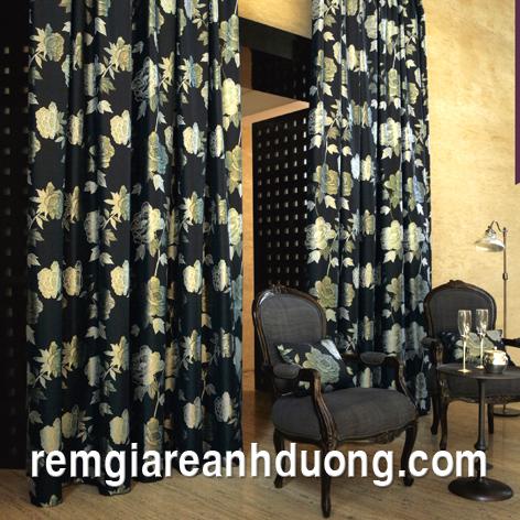 rèm vải một màu, rèm vải, vải may rèm một màu, may rèm vải