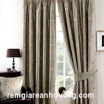 Mẫu rèm cửa sổ đẹp không bao giờ lỗi mốt - Chất liệu của sự lộng lẫy và tinh tế