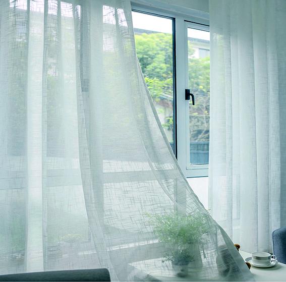 Rèm cửa sổ đẹp, nhẹ nhàng và tươi tắn cho mùa xuân