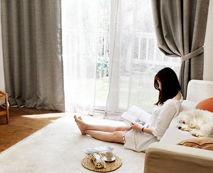 Rèm cửa Ánh Dương, sự lựa chọn của các hộ gia đình ở chung cư Hà Nội